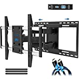 Mounting Dream TV Mount with Sliding Design for Most 42-70 Inch TVs, Easy for TV Centering on Wall, Full Motion TV Wall Mount Fits Most Smart OLED TVs - Easy to Install on 16'~ 24' Stud, Extend to 19'