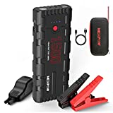 NEXPOW Car Battery Starter, 1500A Peak 21800mAh 12V Portable Car Jump Starter, Auto Battery Booster, Lithium Jump Box with LED Light/Quick Charge 3.0