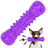 FRLEDM Dog Toys-Dog Toys for Large Dogs Aggressive Chewers,Toughest Natural Rubber Dog Bones Interactive Dog Toys for Dogs-Teeth Cleaning Chews for Large/Medium Breed Dogs