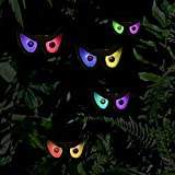 Twinkle Star Halloween Decorations Flashing Eyes String Lights, RGB Color Changing Spooky Light Up Eyeball Waterproof Battery Operated Decoration String Lights for Halloween Indoor/Outdoor Decor