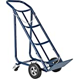 Tilt Back Cylinder Hand Truck with Curved Handle, 800 Lb. Capacity, 47'H