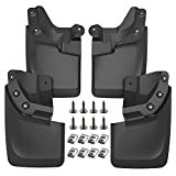 A-Premium Mud Flaps Splash Guards Replacement for Toyota Tacoma 2016-2021 Molded with OEM Fender Flares (Doesn't Fit SR Models) Front and Rear 4-PC Set