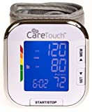 Care Touch Fully Automatic Wrist Blood Pressure Monitor - Platinum Series - 5.5' - 8.5' Cuff Size - Batteries and Carrying Case Included