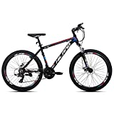 Hiland 26 Inch Mountain Bike for Men with 18 Inch Aluminum Black…