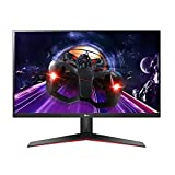 LG 32MP60G-B Monitor 31.5' FHD (1920 x 1080) IPS Display, AMD FreeSync, 1ms MBR Response Time, Refresh Rate 75Hz, On-Screen Control - Black