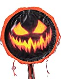 18' Halloween Pinata for Kids, Large Pumpkin Pinata Halloween Party Supplies, Halloween Theme Party Decorations, Perfect for Birthday Parties, Scary Adult Piñata(18 x 18 x 4 inches)
