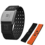 Scosche Rhythm+ Heart Rate Monitor Armband- Optical Heart Rate Armband Monitor with Dual Band Radio ANT+ and Bluetooth Smart - Bonus Pack includes Additional Free Armband