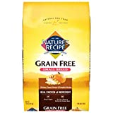 Nature's Recipe Grain Free Small Breed Dry Dog Food, Chicken, Sweet Potato & Pumpkin Recipe, 12 Pound Bag, Easy to Digest