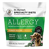 Dr. Harvey's Specialty Diet Allergy Turkey Recipe, Human Grade Dog Food for Dogs with Sensitivities and Allergies (5 Pounds)