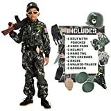 Child Boy Army Special Forces Costume (Small (5-7 yr))