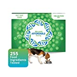 5Strands Pet Food Intolerance Test, 255 Item Sensitivity Test Kit, Dog or CAT Hair Analysis, Accurate for All Breeds - Beef, Chicken Meal, Grain, Treats, Results in 5-7 Days