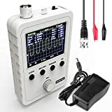 AUKUYEE Updated 2.4' TFT Digital Oscilloscope Kit with Power Supply and BNC-Clip Cable Probe Q15001 (Assembled Finished Machine)