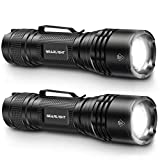 GearLight LED Tactical Flashlights - Pack of 2 - Bright, Zoomable, Handheld Flashlight Set with High Lumens for Camping, Outdoor & Emergency Use