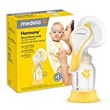 New Medela Harmony Manual Breast Pump, Single Hand Breastpump with Flex Breast Shields for More Comfort and Expressing More Milk