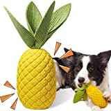 Sugelary Squeaky Dog Toys for Aggressive Chewer Large Medium Breed Dog, Indestructible Tough Durable Dog Chew Toys with Non-Toxic Natural Rubber