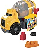 Mega Bloks CAT Cement Mixer with Big Building Blocks, Buildng Toys for Toddlers (9 Pieces)