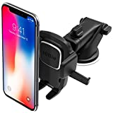 iOttie Easy One Touch 4 Dash & Windshield Universal Car Mount Phone Holder Desk Stand for iPhone, Samsung, Moto, Huawei, Nokia, LG, Smartphones, Black