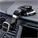BESTRIX Phone Holder for Car, Magnetic Car Phone Mount | Dashboard Cell Phone Car Phone Holder Compatible with iPhone 12 11 Pro,Xr,Xs,XS MAX,XR,X, Galaxy S20 Note 20 Ultra & All Smartphones