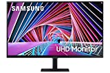 SAMSUNG 32 Inch 4K UHD Monitor, Computer Monitor, Wide Monitor, HDMI Monitor HDR 10 (1 Billion Colors), 3 Sided Borderless Design, TUV-Certified Intelligent Eye Care, S70A (LS32A700NWNXZA)