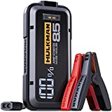 HULKMAN Alpha85 Jump Starter 2000 Amp 20000mAh Car Starter for up to 8.5L Gas and 6L Diesel Engines with LED Display 12V Lithium Portable Car Battery Booster Pack (Space Gray)