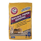 Arm & Hammer for Pets Natural Paper Bedding for Guinea Pigs, Hamsters, Rabbits & All Small Animals   12.5 Liter Paper Bedding for Small Animals Expands to 30 Liters