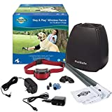 PetSafe Stay & Play Wireless Fence for Stubborn Dogs – Above Ground Electric Pet Fence – from the Parent Company of Invisible Fence Brand