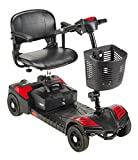 Drive Medical SFSCOUT4 Spitfire Scout 4 Mobility Scooter, Red/Blue
