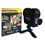 Halloween Holographic Projection, Halloween Projector Lights with a Tripod, Christmas LED Projector Lights, 12 Patterns Festival Outdoor Decor for Holiday Party Decoration Wall Motion