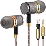 Betron YSM1000 Wired Earbuds Noise Isolating in Ear Headphones Deep Bass Balanced Treble and Mids