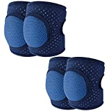 Baby Knee Pads for Crawling Toddler Knee Pads Anti-Slip Breathable Protector for Infant Unisex Girl Boy Adjustable Knee Pads Baby