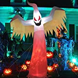 Halloween Decoration Outdoor, 12FT Scary Halloween Inflatable Ghost, Halloween Outdoor Decor, Spirit Halloween Outside Decorations, Blow Ups Halloween Yard Decoration for Halloween Party