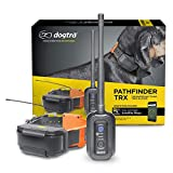 Dogtra Pathfinder TRX 9-Mile 21-Dog Expandable Waterproof Smartphone GPS-Only Tracking Collar with 2-Second Update Rate, No Subscription Fee, Free Satellite Map