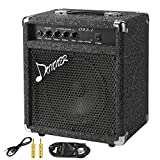 Donner 25W Bass Guitar Amplifier DBA-2 Electric Practice Bass Combo AMP With Cable