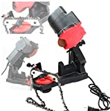LEGENDARY-YES Electric Grinder Chain Saw Bench Sharpener Vise Mount W/Grind Chainsaw Wheel
