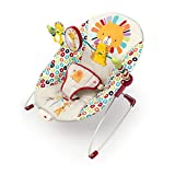 Bright Starts Playful Pinwheels Bouncer with Vibrating Seat , 19.8x13.1x3.4 Inch (Pack of 1)