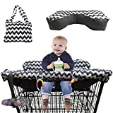 BabysDrive Shopping Cart Cover for Baby, with Cushion Included, High Chair Cover, Large Size, Loaded with Baby-Friendly Features, Fits All Shopping Carts