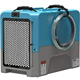 ALORAIR LGR Compact Dehumidifier auto Shut Off with Built-in Pump, cETL Listed, 5 Years Warranty, up to 180 PPD (Saturation) Water Removal Per Day, Blue