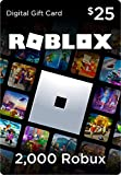 Roblox Gift Card - 2000 Robux [Includes Exclusive Virtual Item] [Online Game Code]