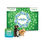 5Strands Pet Test, Standard Package 380 Items – Includes Food Intolerance & Environment Sensitivity Testing, at Home Pet Health Test, Cat or Dog Hair Sample Collection, Results in 5-7 Days