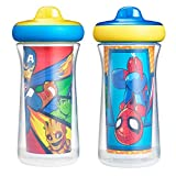 The First Years Marvel Insulated Sippy Cups, 9 Ounces (Pack of 2)