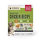 The Honest Kitchen Human Grade Dehydrated Grain Free Dog Food – Complete Meal or Dog Food Topper – Chicken 10 lb (makes 40 lbs)