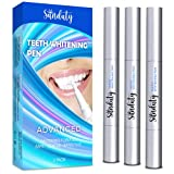 Sunduty Teeth Whitening Pen , Effective and Painless Oral Care Teeth Stain Remover , Whitens Teeth Gradually & Safely , Convenient to Use , Travel Friendly, 3 Pack