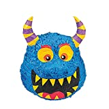 Monster Pinata for Kids - Halloween or Monster Bash Birthday Party Game