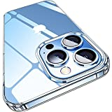 Elando Crystal Clear Case Compatible with iPhone 13 Pro Case, Non-Yellowing Protective Shockproof Slim Thin Phone Case, 6.1 inch