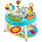 Fisher-Price 3-in-1 Sit-to-Stand Activity Center, Baby to Toddler Convertible Play Center