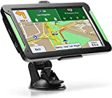 """GPS Navigation for Car, LTTRBX 7"""" Touch Screen 8GB Real Voice Spoken Turn-by-Turn Direction Reminding Navigation System for Cars, Vehicle GPS Satellite Navigator with Free Lifetime Map Update (Black)"""