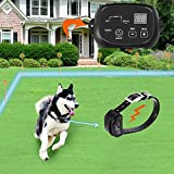 COVONO Electric Dog Fence, Pet Containment System (Aboveground/Underground, 650 Ft Wire, IP66 Waterproof/Rechargeable Collar, Shock/Tone Correction, for 1 Dog)