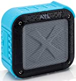 Portable Outdoor Waterproof Bluetooth Speaker- Wireless 10 Hour Rechargeable Battery Life, Powerful 5W Audio Driver, Pairs Easily to All Bluetooth Devices, Phones, Tablets, Computers, Soundfit (Blue)